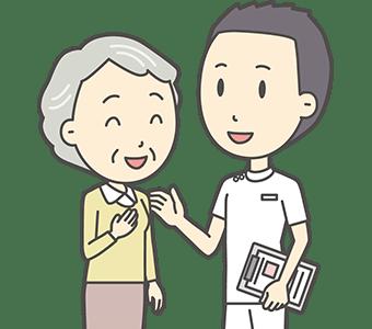 変形性膝関節症 88歳 女性(娘さんと同居)