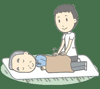 腰椎圧迫骨折 86歳 男性